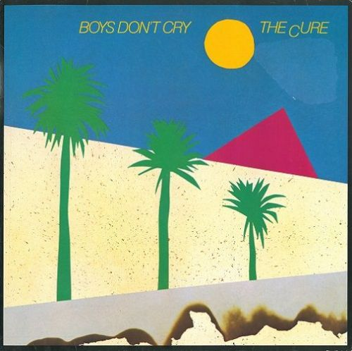 THE CURE Boys Don't Cry Vinyl Record LP German Fiction 1980